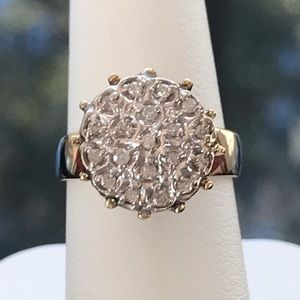 Jewelry - .50.ctw real diamond ring set in 10kt YG